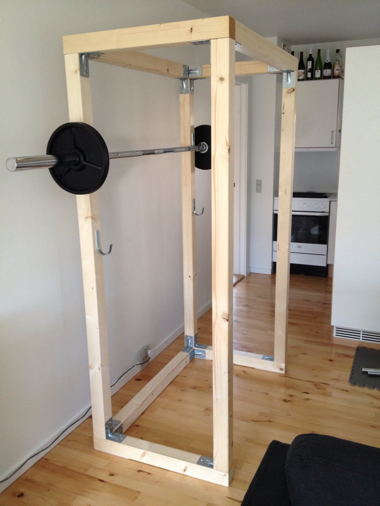 Building a power cage martin toft 39 s blog for A squat rack